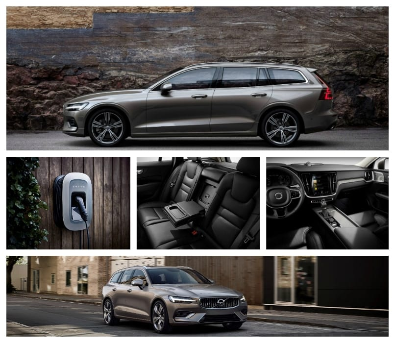Volvo v60 estate phev pictures